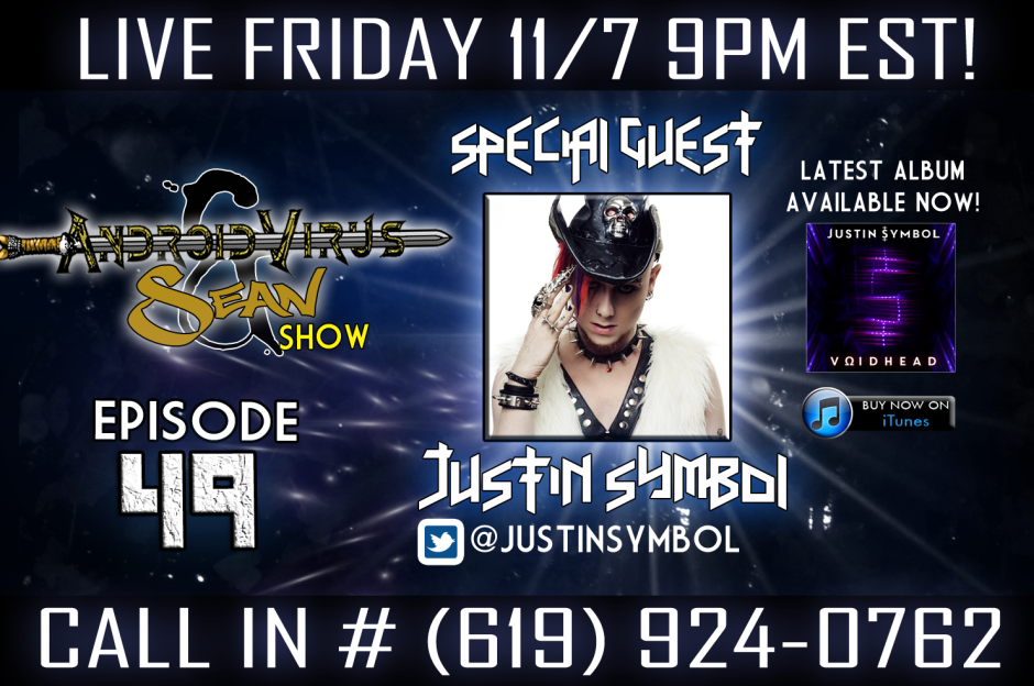 Tune in  as we have special guest Justin Symbol on!
