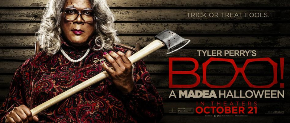 "Boo! A Madea Halloween"" Movie Review by Van Roberts – THE ..."